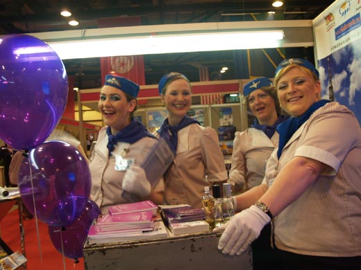 Gdansk, Sopot and Pomerania stand at the Holiday & Travel Show in Glasgow